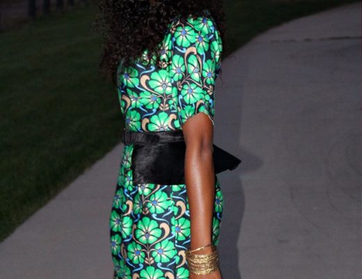 how to rock peplum belt