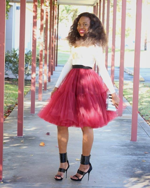 Full tutu skirt