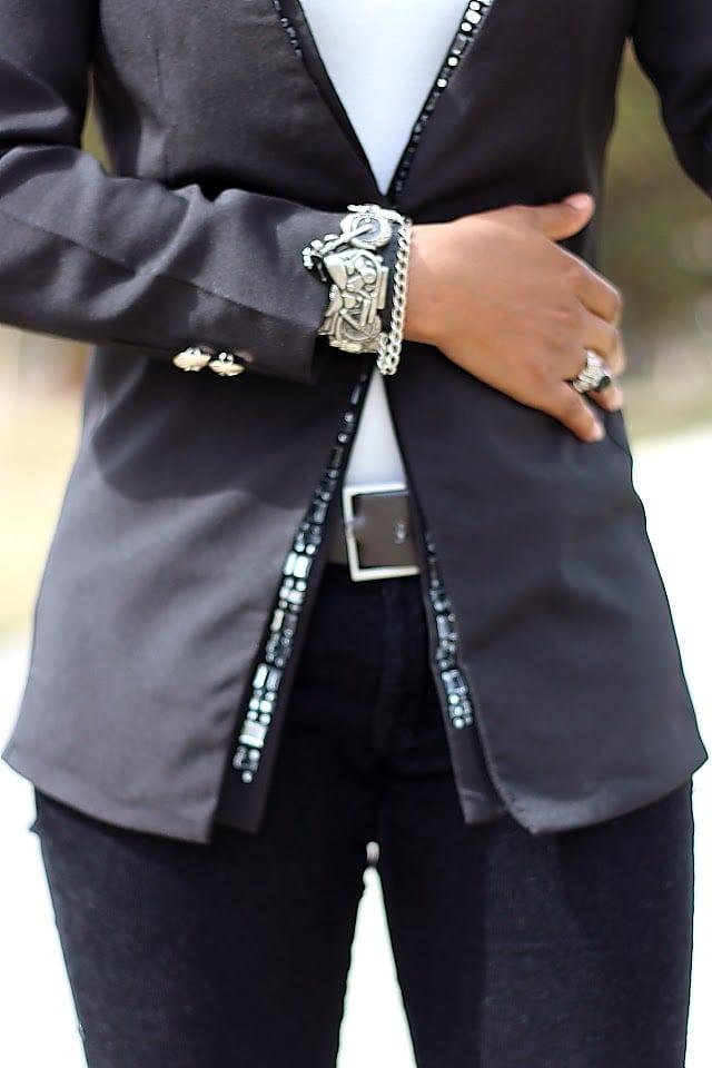 Unique motorcycle bracelet watch