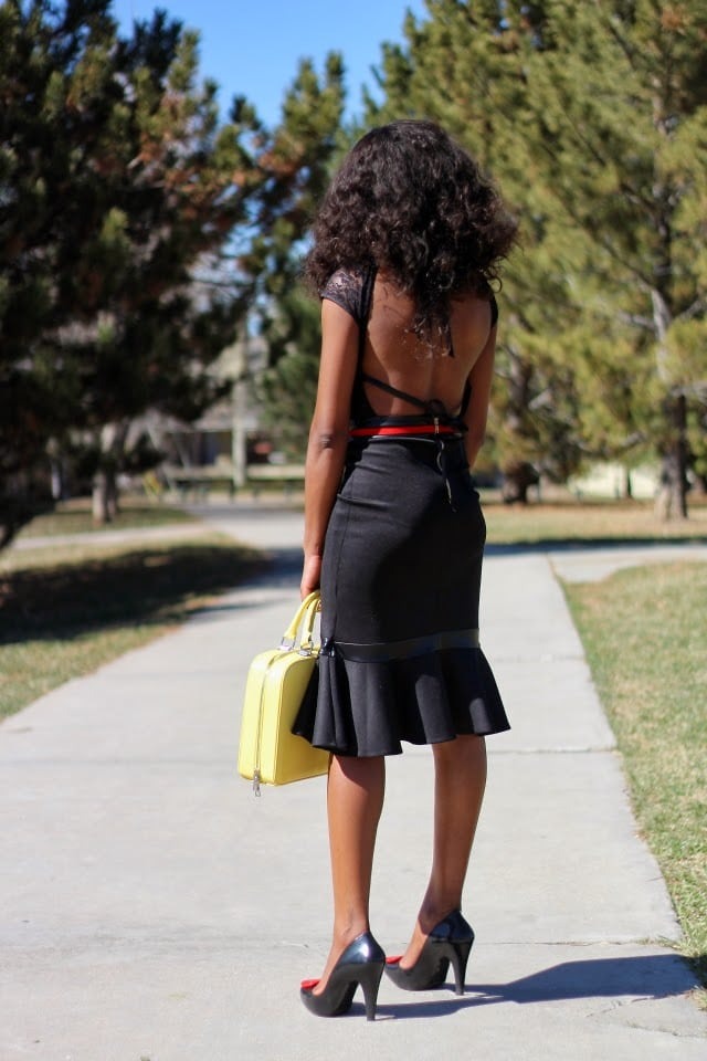 Beauty Blog and backless bodysuit