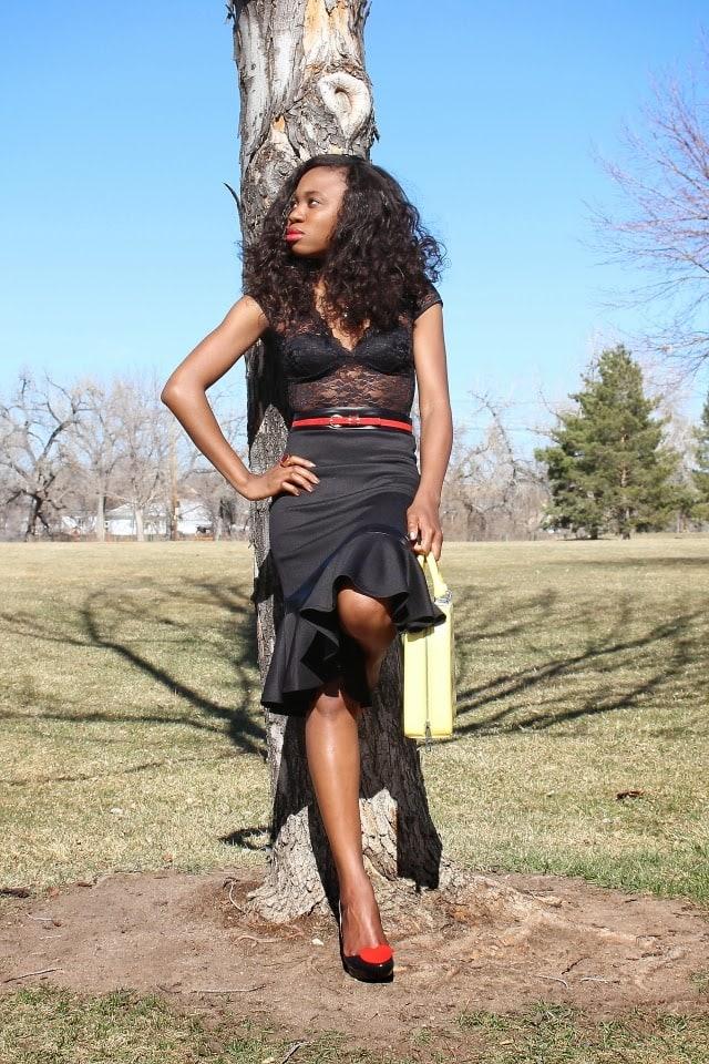 Beauty Blog, lace bodysuit
