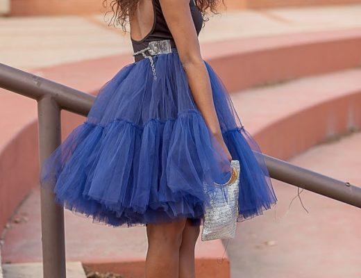 Asos full midi skirt outfit