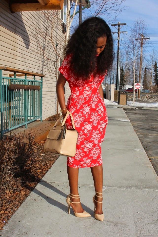Fashion blog, Nigerian, Wiggle Dress, Alaskan blogger, Wyoming blogger, shift dress