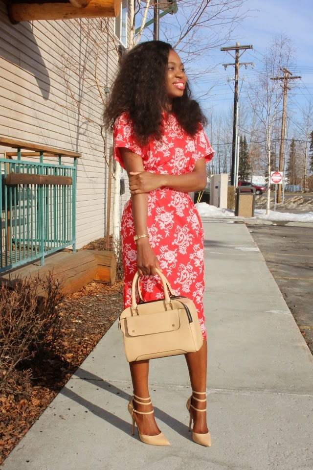 Wiggle Dress, Alaskan blogger, Wyoming blogger, shift dress
