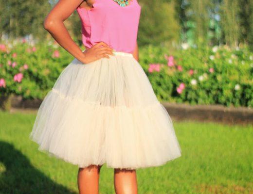 Full mesh tutu skirt