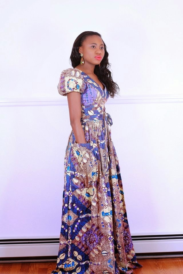 Nigerian Ankara Dress