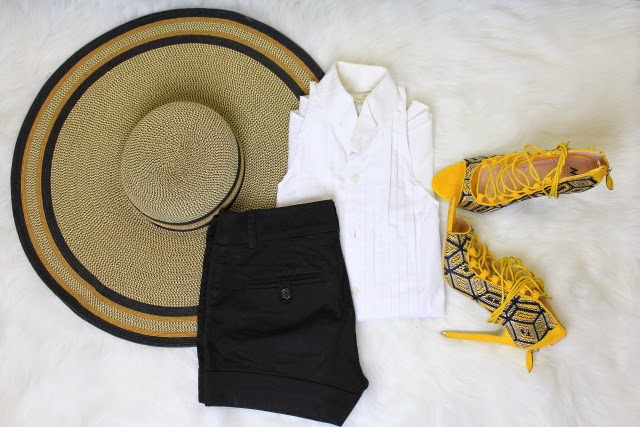 Summer outfit laydown