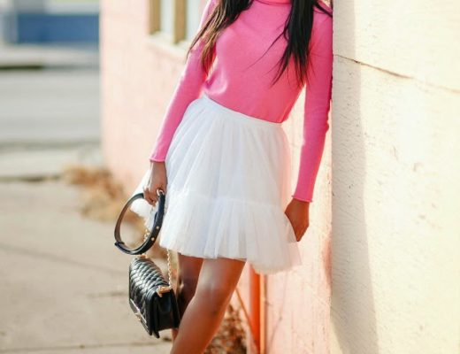 Full tutu mini skirt outfit
