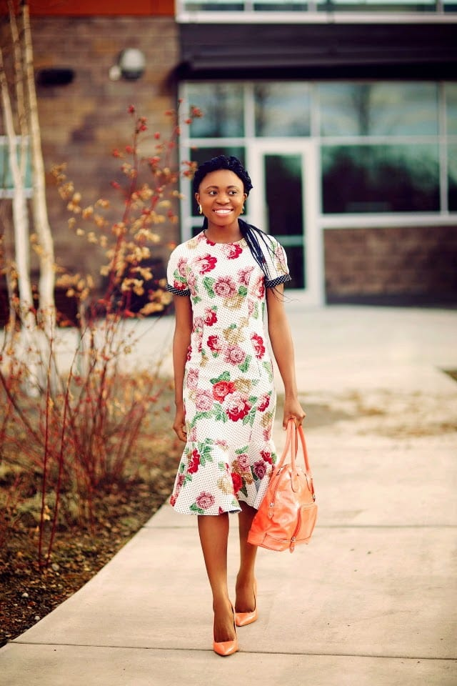 Cute Box Braids, Floral Dress, Beauty Blog