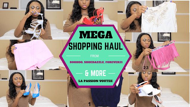 Fashion blogger Mega Shopping Haul