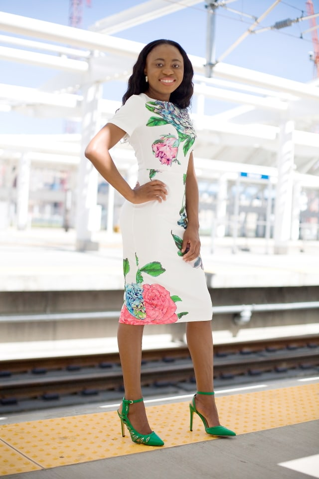 Fashion blogs, Fashionista, La Passion Voutee, Louisa Moje, Fashion bomb daily, floral midi dress