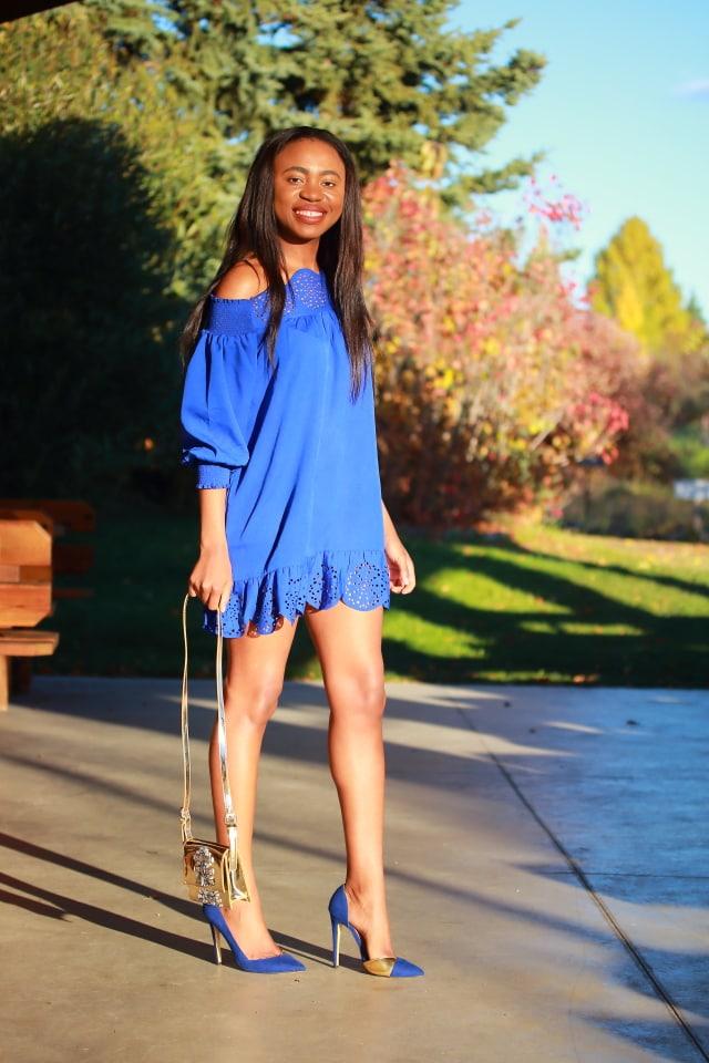 Alaska fashion blogger, ShoeDazzle pumps, Nigerian blogger, What to wear, Online shopping