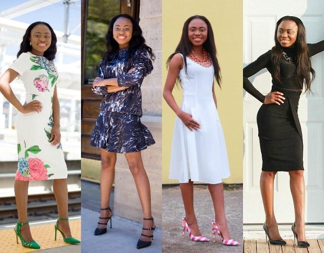 Complete outfits, Outfits under $100, Boohoo black wrap skirt, ShoeDazzle sandals, NAstyGal coordinates, SheIn midi white dress, Black turtleneck crop top, Amrita Singh jewelry, Nigerian blogger, Online shopping, Fashion blogger, Alaska fashion, Wyoming fashion