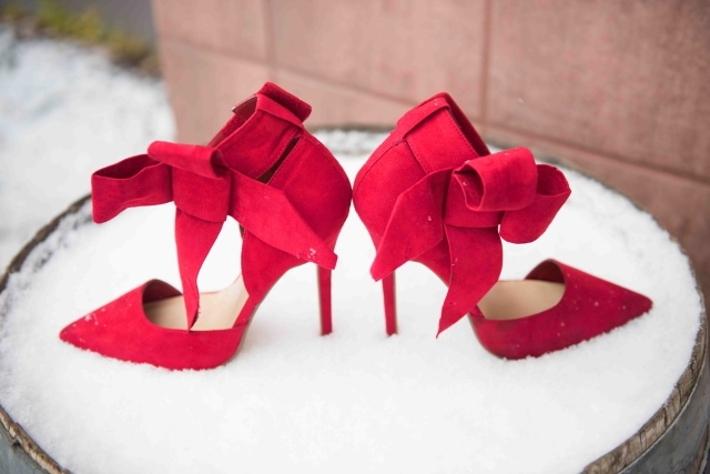 JustFab red bow pumps, christmas gifts for girlfriend, christmas ideas, christmas outfits, christmas party ideas, christmas present ideas, christmas shoes, christmas wish list,