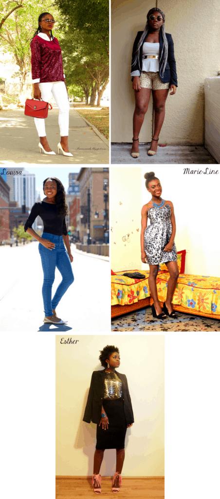 Blogger style collaboration, glitter shoes cheap, glitter shoes women, black bodysuit, Denver