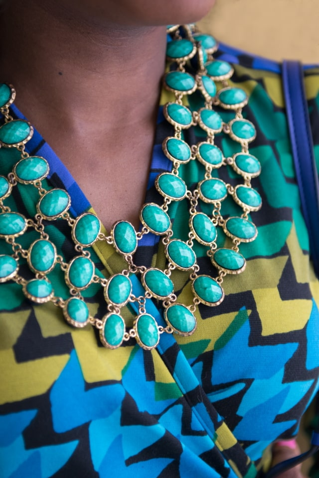 Reversible Bib Necklace