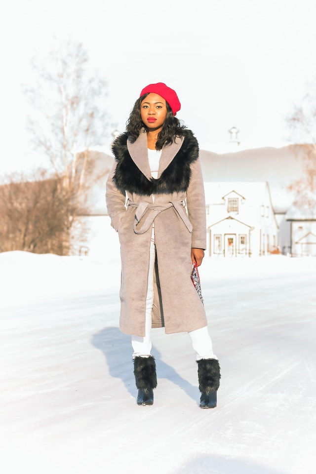 An Alaskan fashionista outfit look