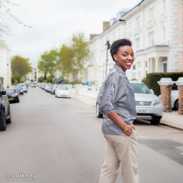 Fashion blogger collaboration: menswear inspired androgynous look