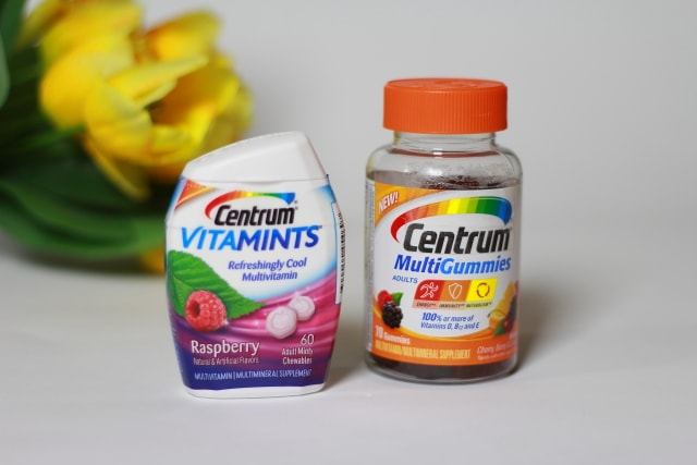 Relish being healthy with simple solutions like Centrum Gummies and Vitamints