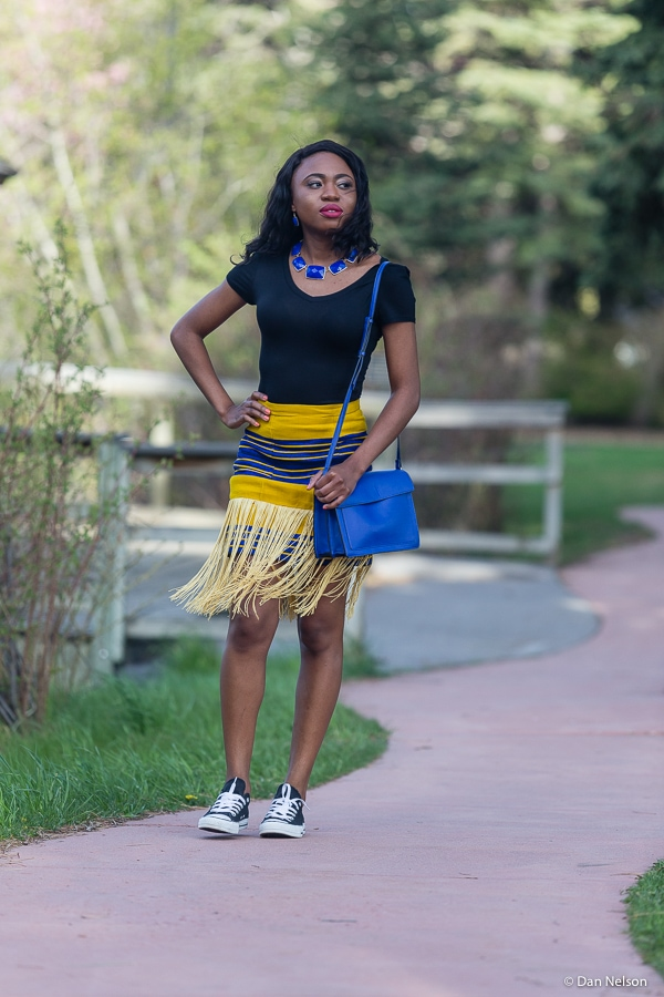 Wondering how to style this season most loved trends in a way that is both fun and practical? Check out this post to find out how to casually rock a fringe skirt with hints of athleisure vibes.