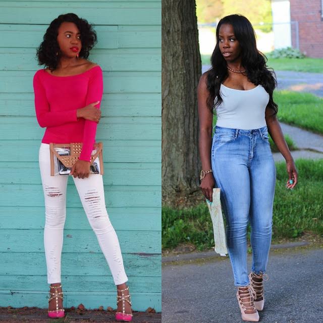 Fashion bloggers rocking denim for summer