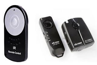 RC-6 remote and Viltorx wireless shutter release
