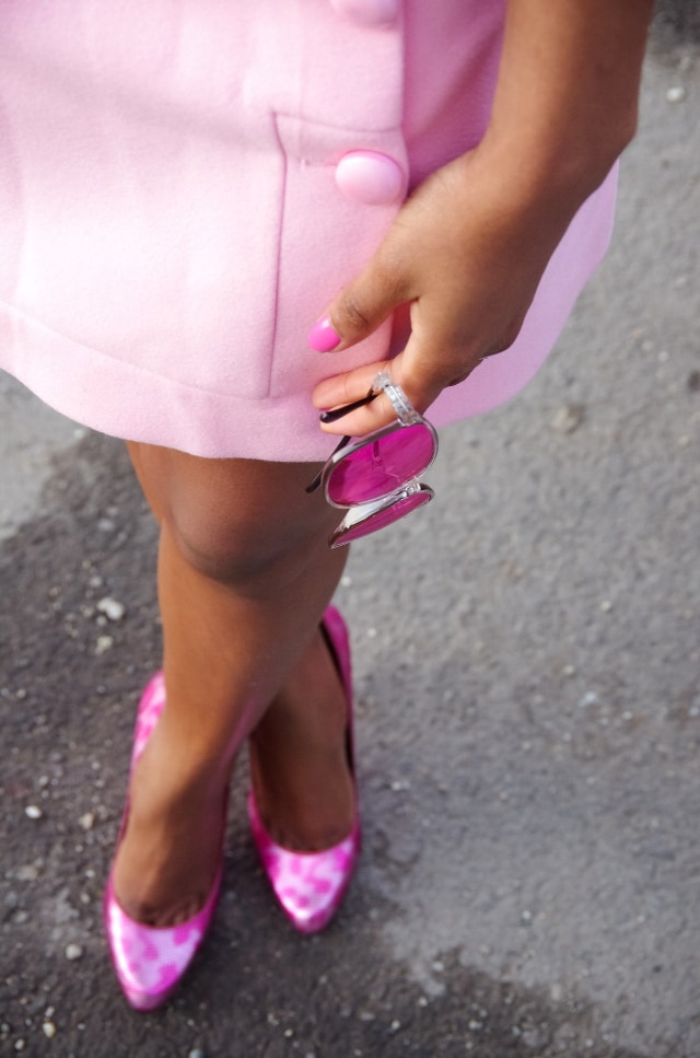All pink outfit inspiration