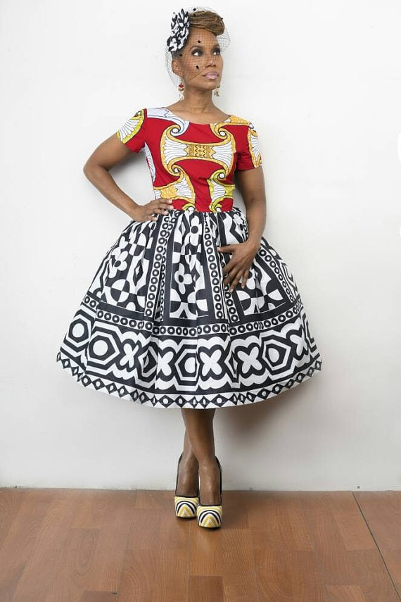 f51c72134614c 50+ Best African Print Dresses    where to get them