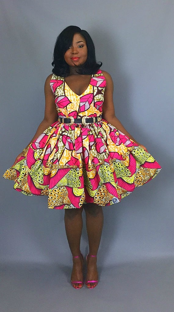 11f034b74d4f 50+ Best African Print Dresses    where to get them
