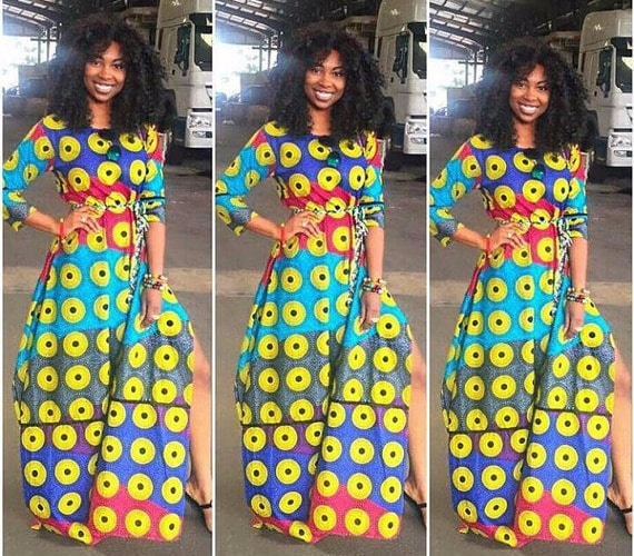 50  Best African Print Dresses [&amp- where to get them]