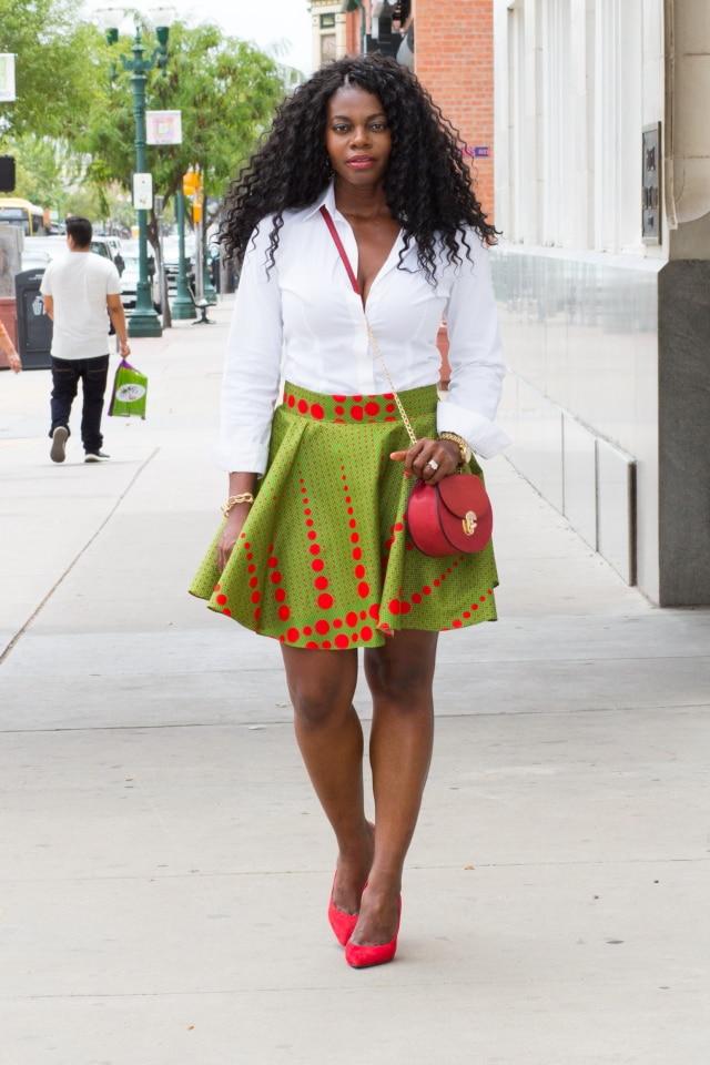 Blogger Collab Ankara African Print Outfit La Passion Vo T E