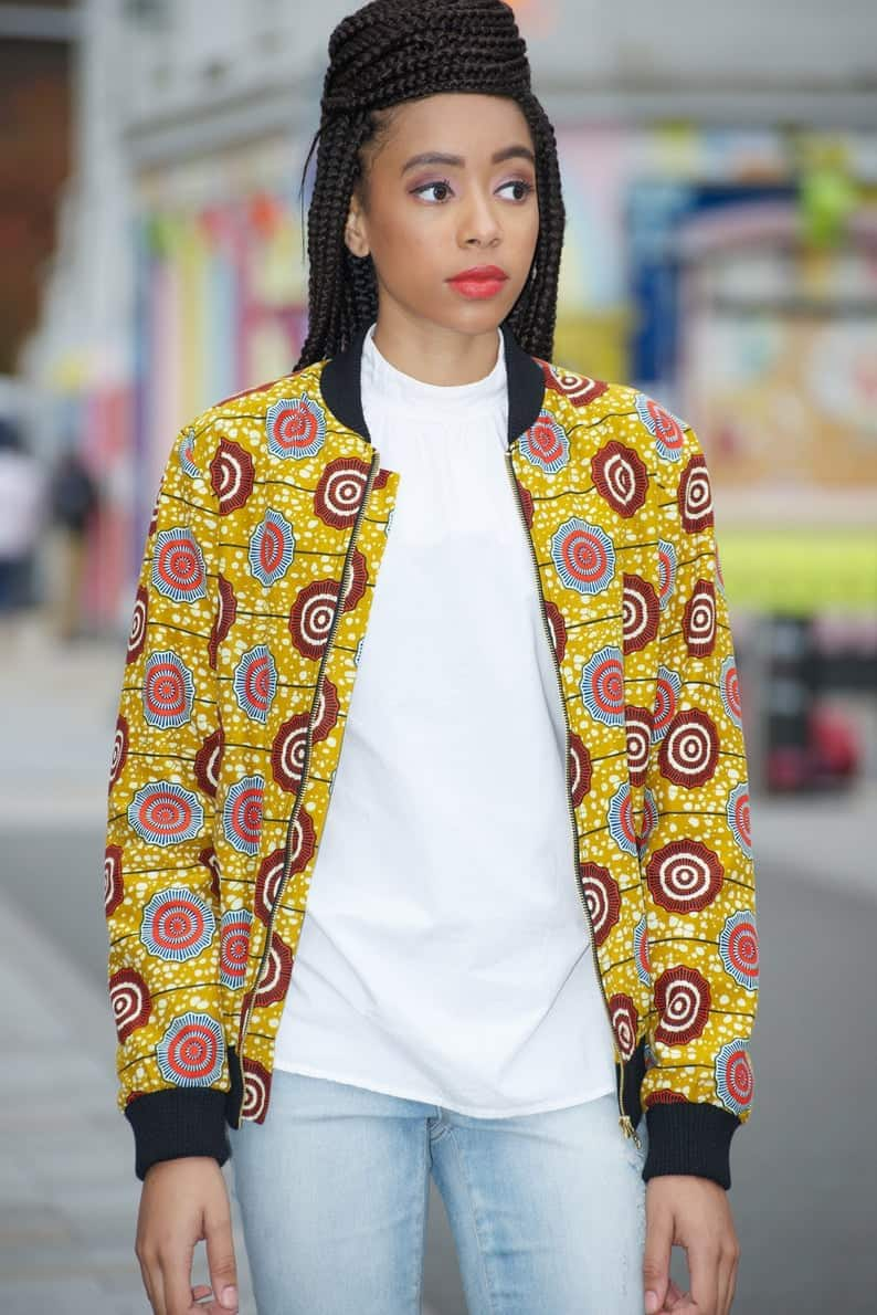African Print Jackets