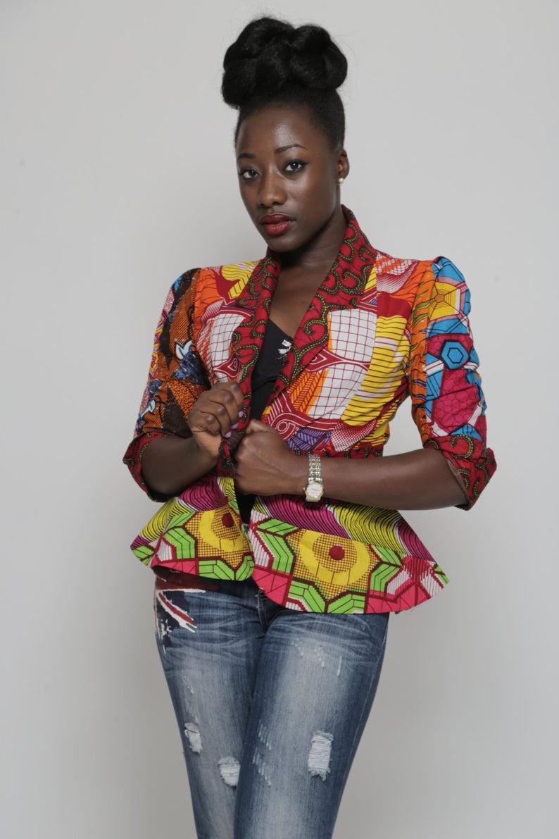 9f977c17e06dbf 25+ Stylish African Print Ankara Jackets in 2019 & Where to Get Them