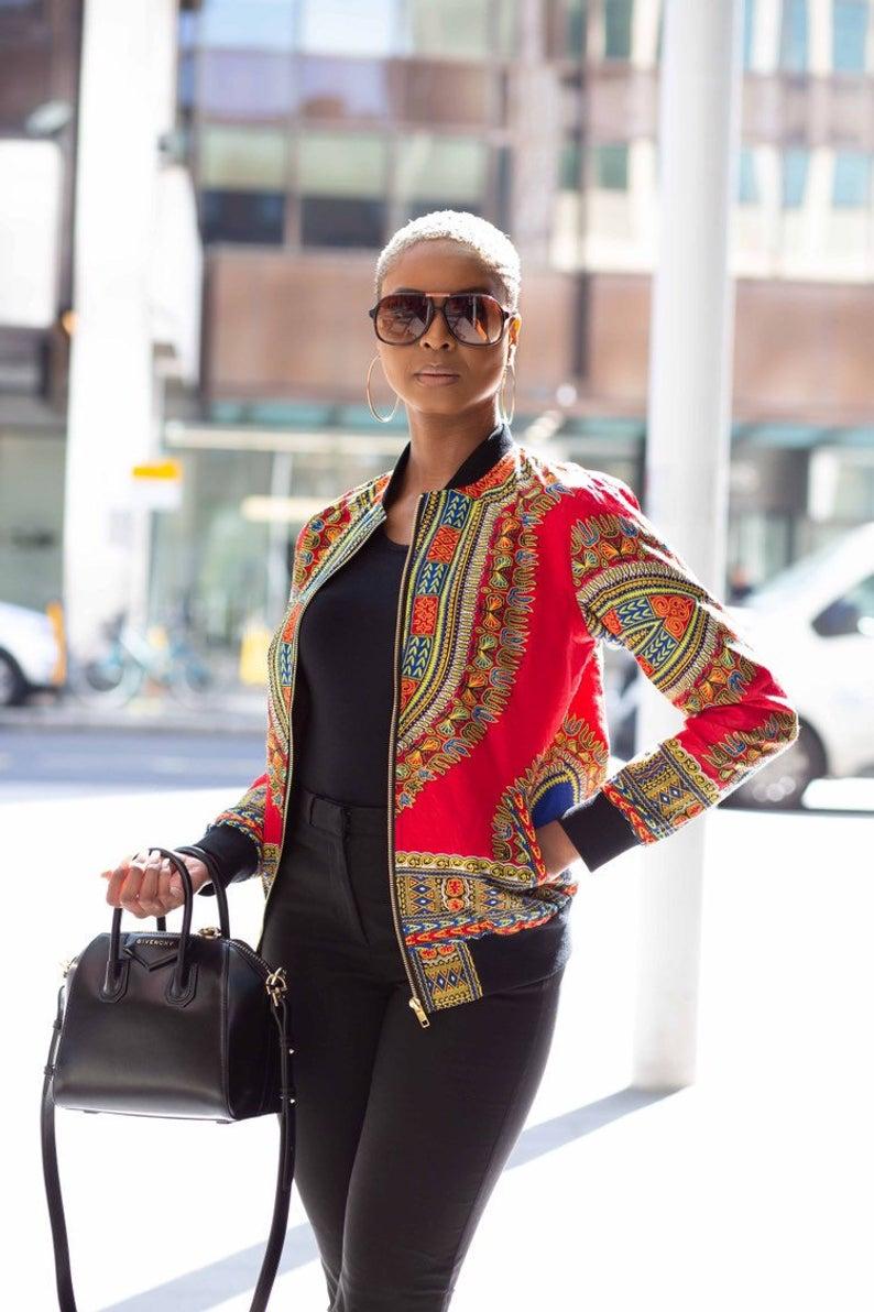 Dashiki African Print Jacket