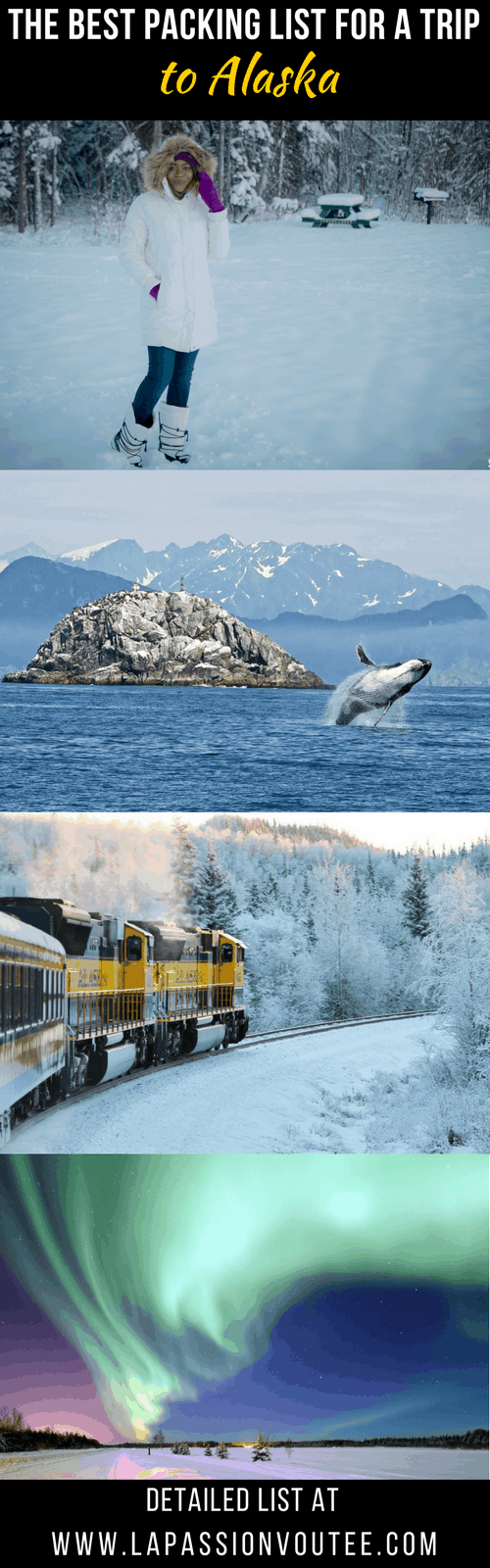 Wondering about what to pack for a trip to Alaska? I live in Alaska and I've covered everything you need for your vacation and things to take on a cruise to Alaska. There's also a free printable packing list to help with your preparation.