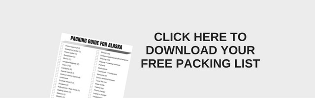 Free Printable - Alaska Vacation Packing Guide