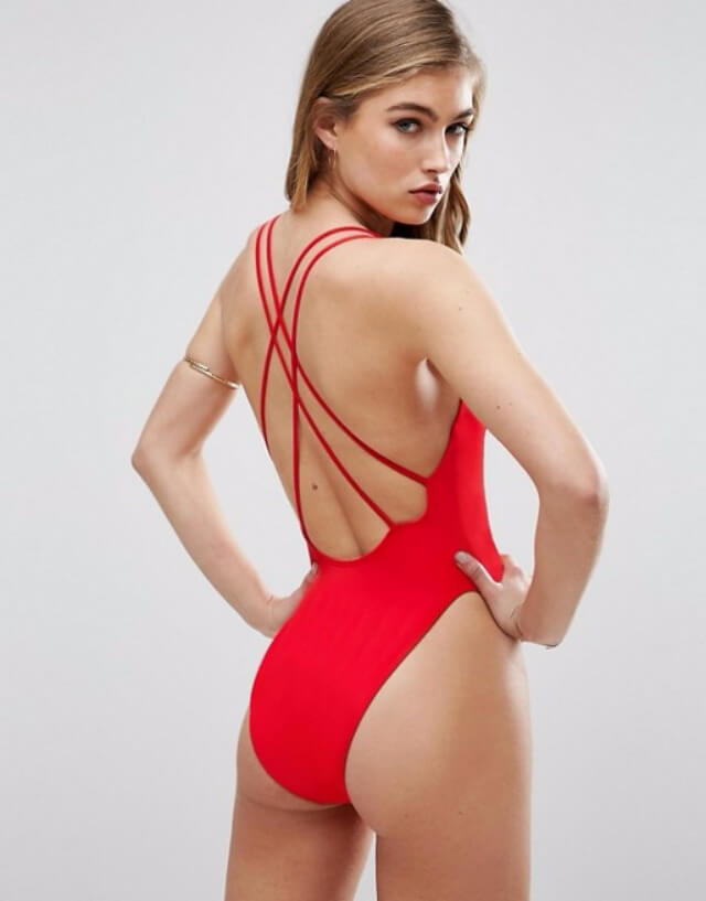 35 cute swimsuits for women to wear right now. From bikinis and tankinis to monokinis all cost $25 or less.