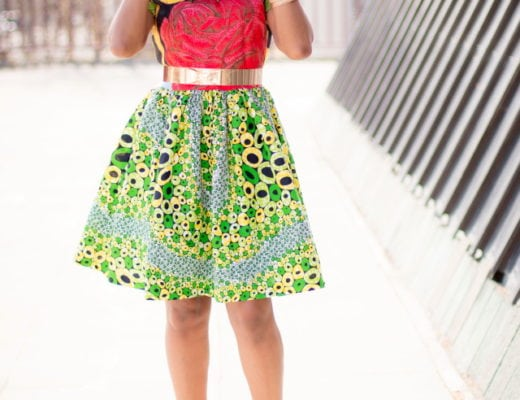 Super Stylish African Dress to Wow This Summer | This African print dress will glam up your look in 60 seconds. The colors, style and cut makes it uber chic and perfect for dressed up or casual occasions. All about Ankara dresses | African prints | Nigerian fashion | African fashion | African print dresses | African dresses | Dashiki Dress | African clothing | Dashiki skirt | African dress styles | African print dress | African attire |