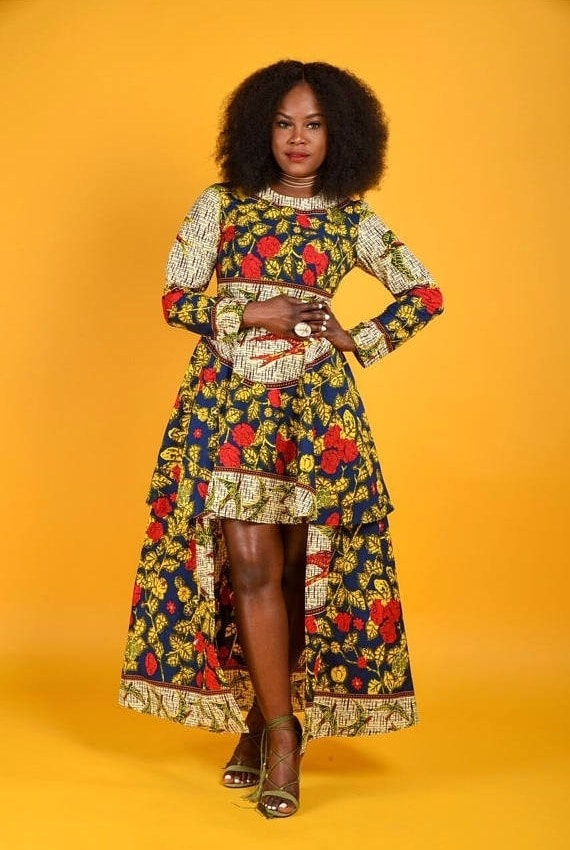 038b0bfca0 45 Fashionable African Dresses to Wow This Season
