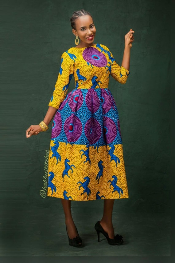 5fb62689f43 45 Fashionable African Dresses to Wow This Season