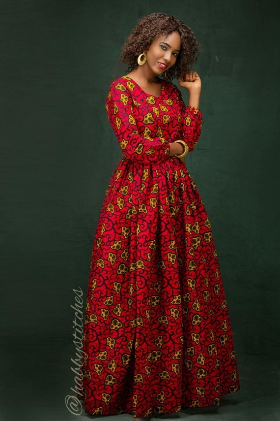 45 Fashionable African Dresses To Wow This Season