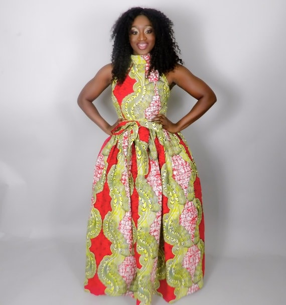 c4de56649df ... all the attention 😉 45 Fashionable African Dresses
