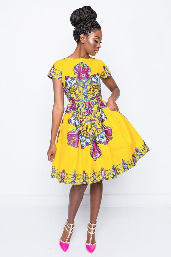 779891650f70 45 Fashionable African Dresses to Wow This Season