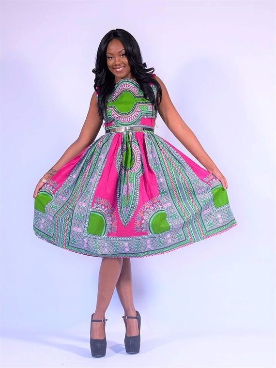 487c0f5c8234f 45 Fashionable African Dresses to Wow This Season
