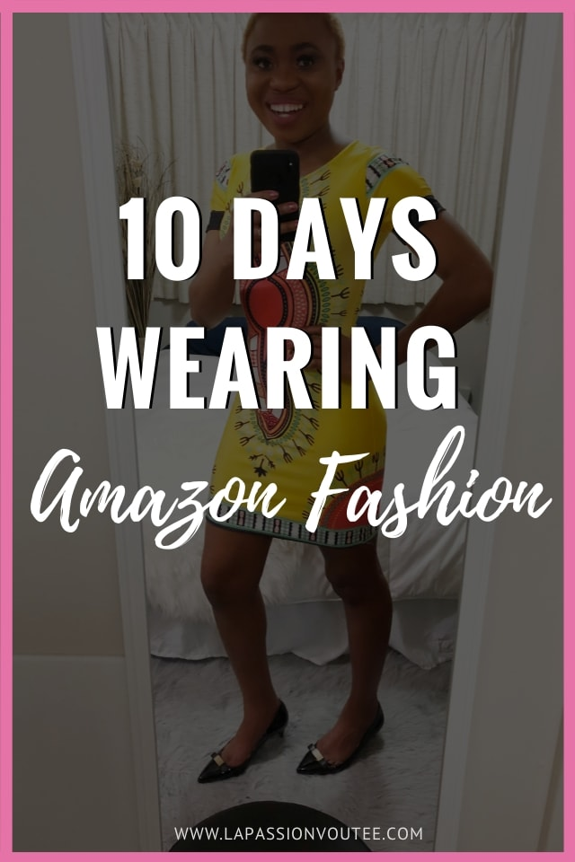 I've always known Amazon to be a hub for all things books, electronics, and household products but not fashion. I decided to do a 10-day outfit challenge wearing clothes and accessories from Amazon Fashion. These are the looks I came up with (+ reviews). I've also linked everything I wore to make it easier to recreate these looks. Enjoy! #Amazon Amazon style, Amazon Spark, outfit challenge, winter looks, amazon reviews