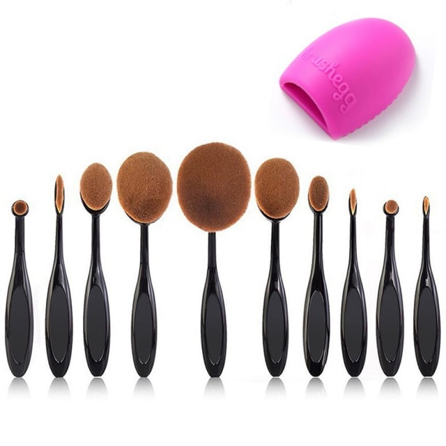 Sharing my best purchases of 2017 - all the products I love and would absolutely buy again in a heartbeat. These items are tried and true and come highly recommended! You'll be surprised by how inexpensive some of these items are. Beauty Kate Makeup Brush Set.