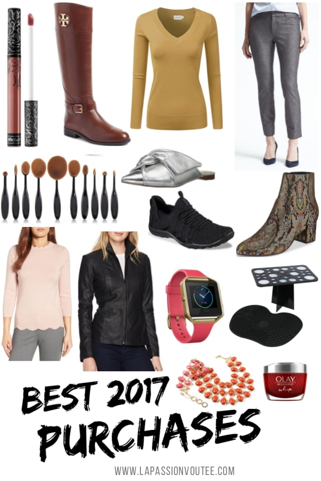 My Best Purchases of 2017 | Everyday Fashion and Beauty Products