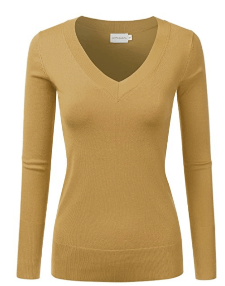 Sharing my best purchases of 2017 - all the products I love and would absolutely buy again in a heartbeat. These items are tried and true and come highly recommended! You'll be surprised by how inexpensive some of these items are. JJ Perfection Pullover Knit Sweater.