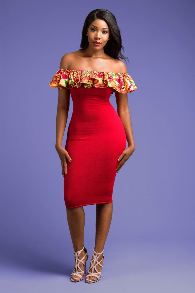 #ankarafashion #ankarastyles African print clothes can be styled in many different ways for weddings, church service, cocktails, bbq, and even for prom. Wax prints like ankara, kente, kitenge & dashiki are just a few of the well known prints African prints. Check out over 45 hottest picks making waves this year.