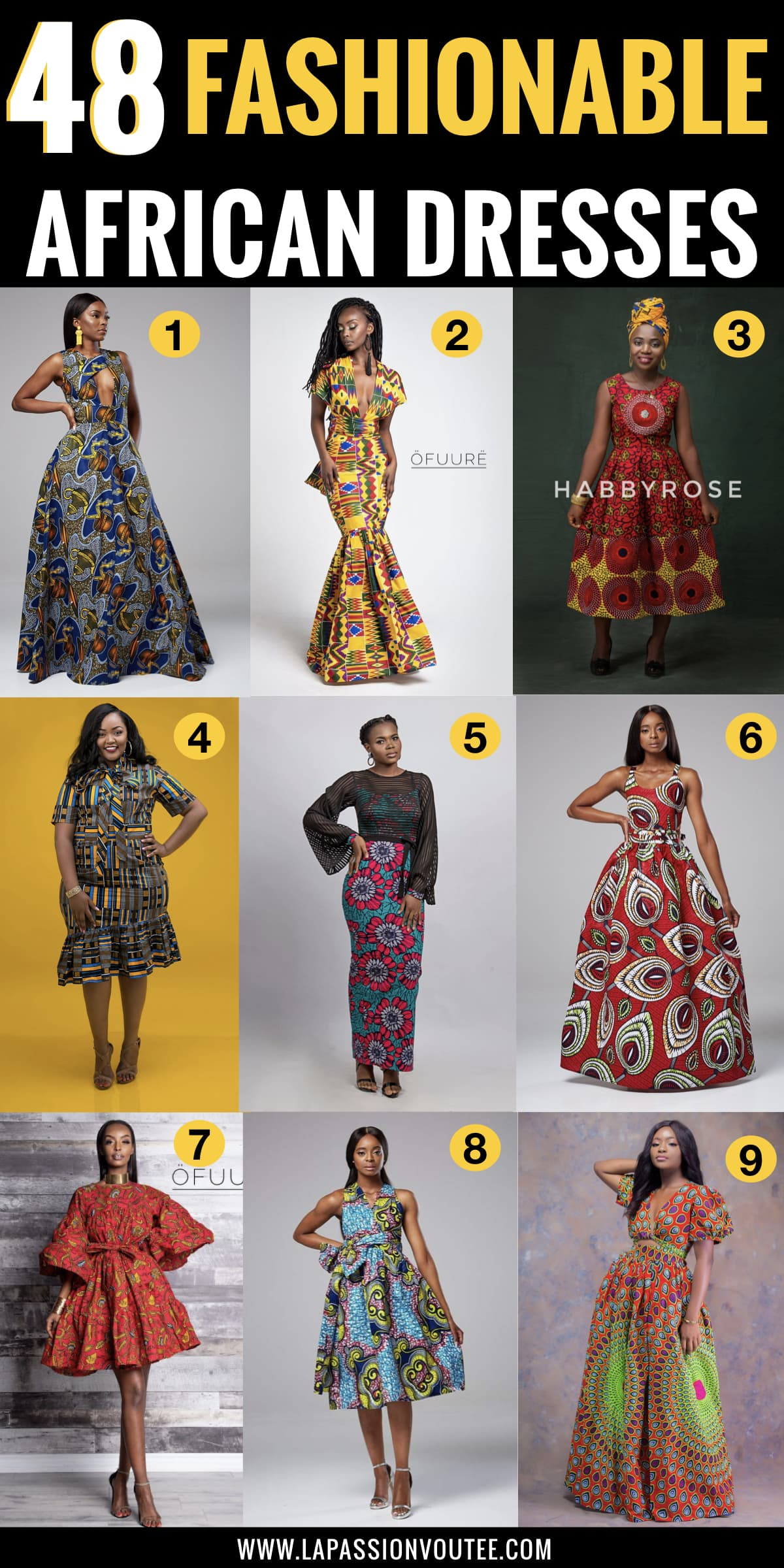 #ankarastyles #ankarafashion The ultimate roundup of the most-wanted African print dresses in 2019 plus tips on how to score these ankara dresses like maxi dresses, midi dresses, and tons more for way less so you get the most out of African print clothes.